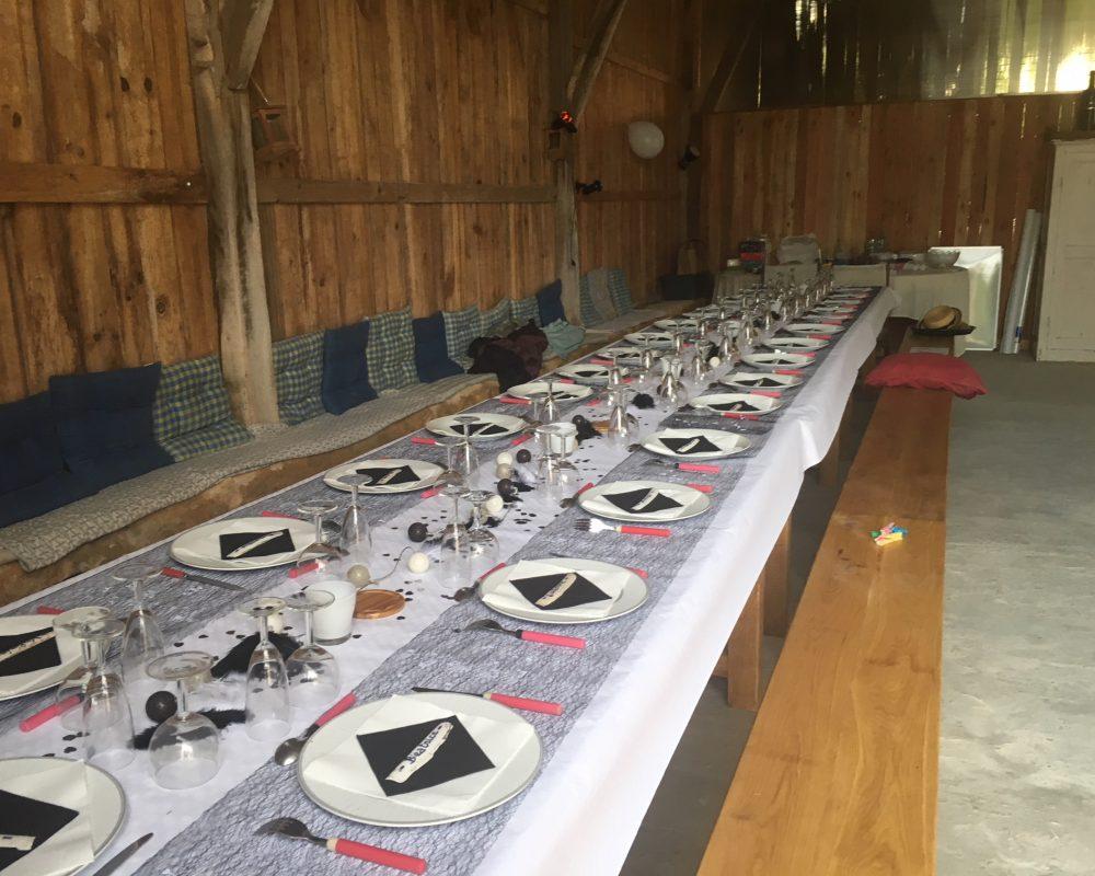 Salle champêtre de la grange 40 places