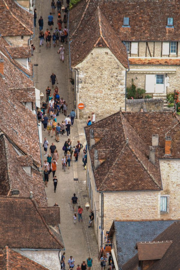 Medieval town Rocamadour in France